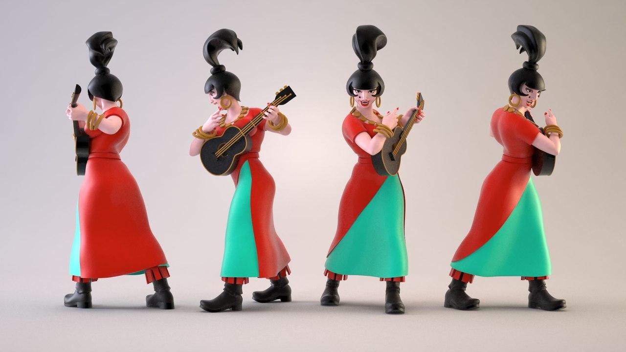 Костюм атаманши из бременских музыкантов своими руками