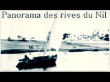 Panorama des rives du Nil.