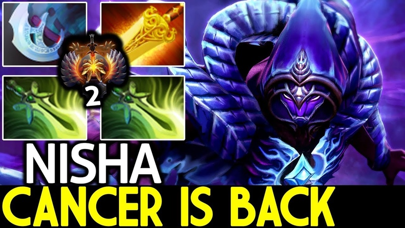 Nisha [Spectre] Wraith Band Meta Spectre is Back 7.20 Dota 2