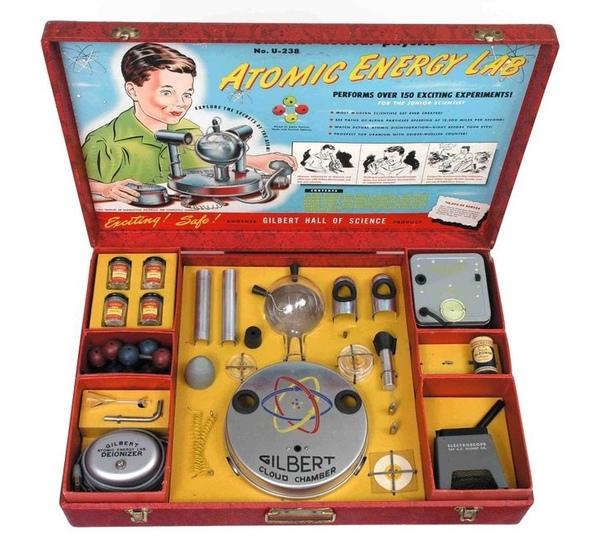 Детская атомная лаборатория с настоящим ураном-238.