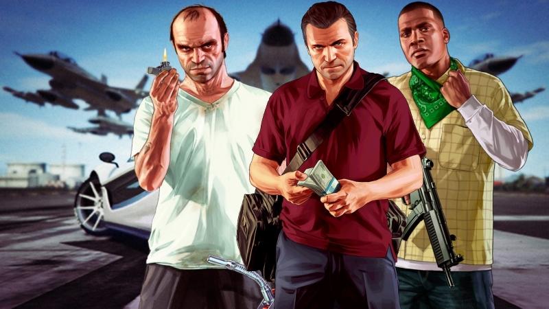 Grand Theft Auto V Redux Прохождение 11(27.04.2018)