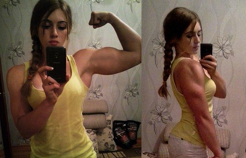 Юлия Винс - красавица-бодибилдер