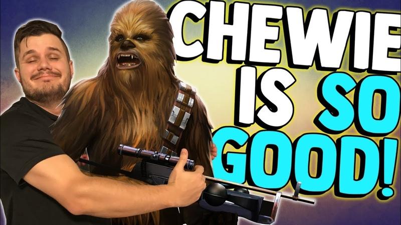 CHEWIE DESTROYS TRAYA! | Kit Gameplay Reveal | Star Wars Galaxy of Heroes