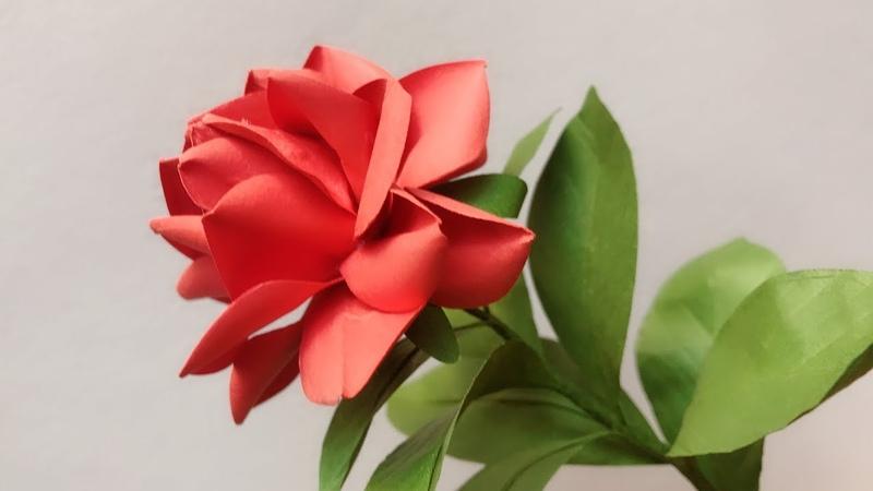 ABC TV | How To Make Rose Paper Flower 1 | Flower Die Cuts - Craft Tutorial