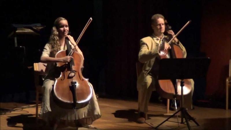 Viola Uotila- vocal and cello, Tomi Uotila- cello : Tulisoroinen