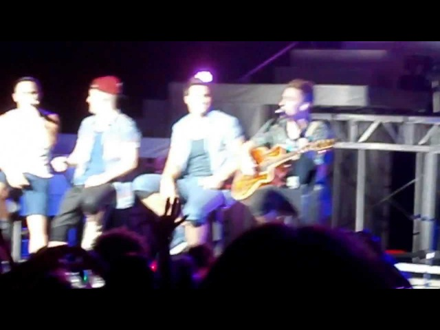 Na Na Na - Big Time Rush @ DTE Energy Music Theatre