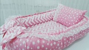 Babynest Sürpriz Yastık Emzirme Minderi Seti
