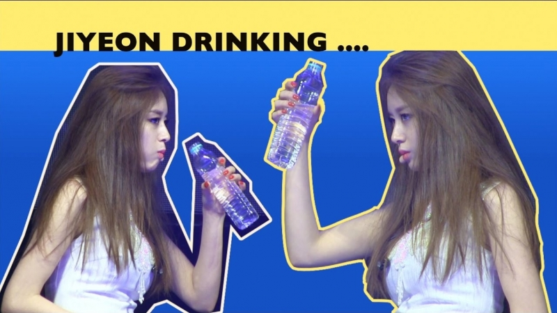 [FMV] Jiyeon T-ara cute funny story - drinking water - 170401