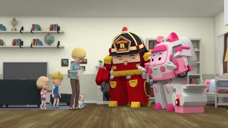 Робокар Рой и пожарная безопасность - Все серии подряд - Подпишитесь на нас -vk.com/teremok_tv