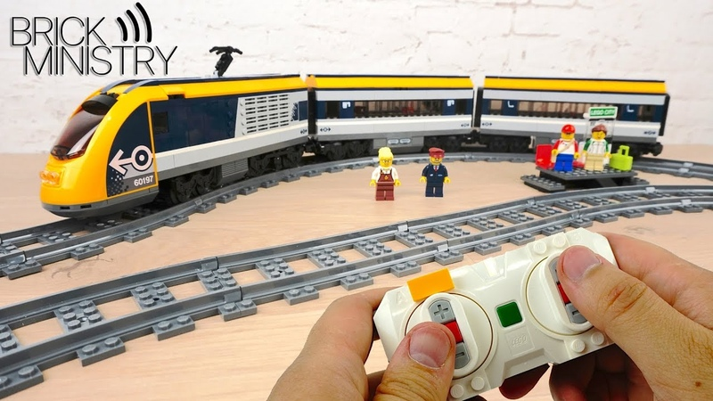 [Обзор] LEGO 60197 ● Пассажирский Поезд