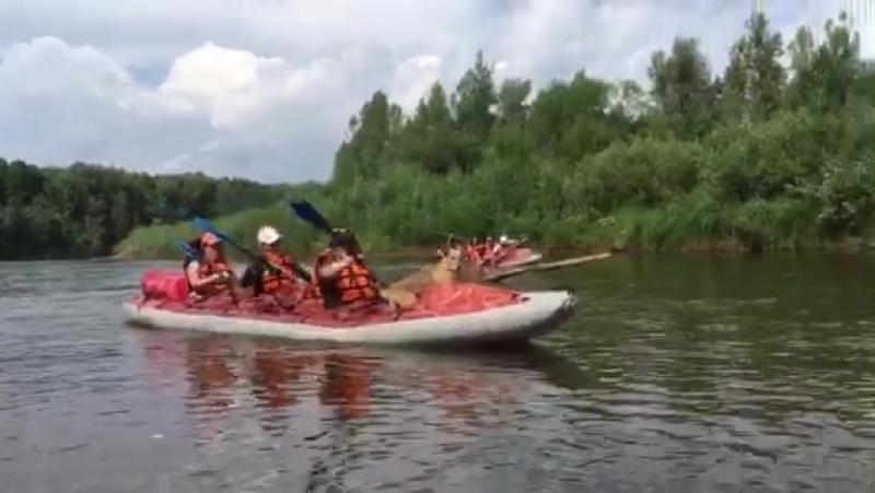 Трое в лодке не считая собаки р Кильмезь