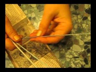 Как крутить трубочки из газет
