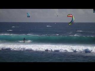 Кайт Школа на Маврикии (KiteClass) - кайтбординг с Ida Lolo