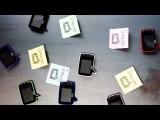 Видео записка магнит на холодильник - Говорящее письмо (гаджет магнит на холодильник c видео камерой и экраном для видео обращений и сообщений - Видеозаписка Native Union Play) 2