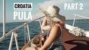 Trip to PULA, Croatia 🇭🇷  Part 2: Kayak Tour, Motor Boat, Parov Stelar concert etc.