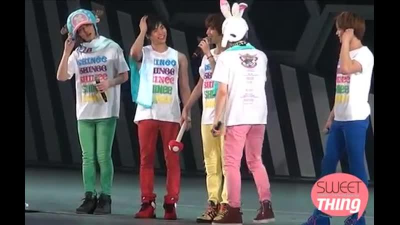 120425 Shinee cute SHINee World Japan Arena Tour in Fukuoka