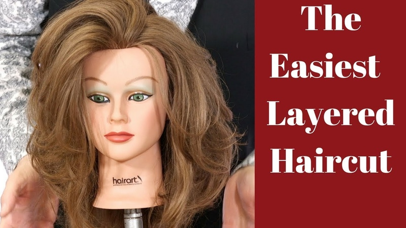 Best Layered Haircut Tutorial with Tom Harris - TheSalonGuy