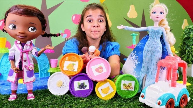 Karlar Ülkesi oyuncakları Elsa dondurma dükkanını açıyor ve daha güzel oluyor