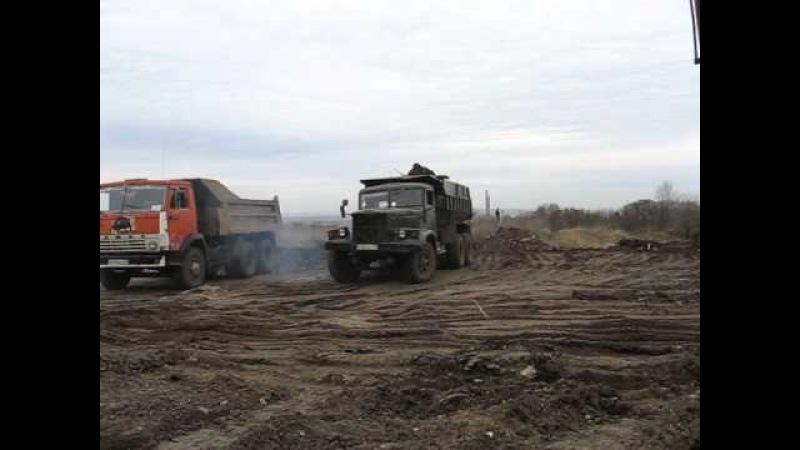 KrAZ-256B old immortal soviet dump truck