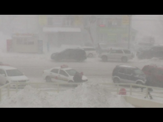 На южном побережье Камчатского края порывы ветра достигли 40 метров в секунду
