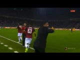 Радости Патрика Кутроне и Дженнаро Гаттузо после забитого гола