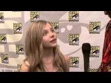 » Хлоя Грейс Моретц (Морец) — San Diego Comic-Con 2009 Kick-Ass Interview. #1 #CMN