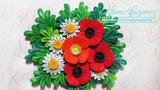 Tutorial Quilling Poppy Flowers 3D - DIY