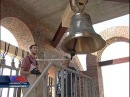 Колокола строящегося храма святого Пантелеймона освятил епископ Ханты-мансийский и Сургутский