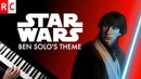 Ben Solo Light Side Theme Piano Cover Star Wars The Last Jedi Kylo Ren's theme in a major key