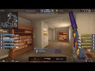 fnatic win full glock round