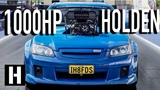 1000hp Big Blower Street Car Holden VE Commodore Burnout Car Sings the Song of its People