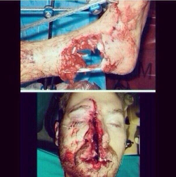 Пол уокер авария фото тела