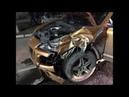 Пьяный мажор на Porsche устроил тройное дтп. Измаил авария в конце видео