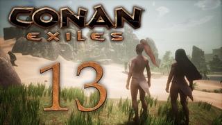 Conan Exiles - прохождение игры на русском - В джунгли! [#13]   PC
