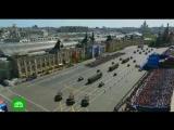 Колонна военной техники на Красной площади