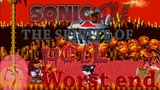 All death... - CreepyPasta - Sonic.EXE: The Spirits of HELL (ROUND 1) #1 - WORST END