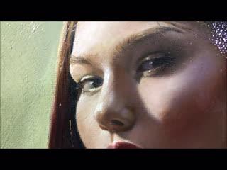 Портрет девушки . Холст /м