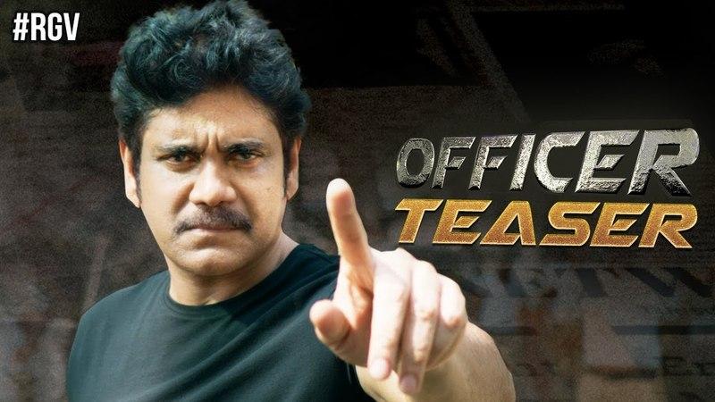 RGV's Officer Teaser | Nagarjuna | Ram Gopal Varma | Myra Sareen | Officer | NAGRGV4 | RGV