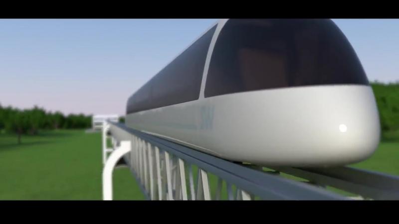 Высокоскоростной юнибус SkyWay