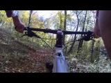 Ранковий спуск велосипедом. Винниківський ліс