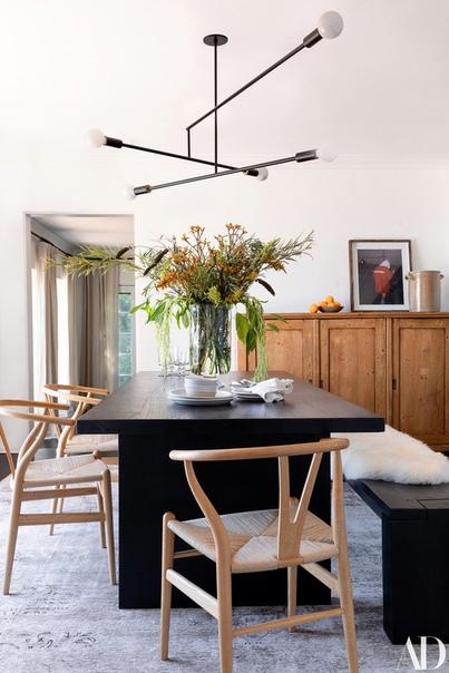 Дом Эшли Тисдейл для нового выпуска журнала Architectural Digest #где_живут_знаменитости