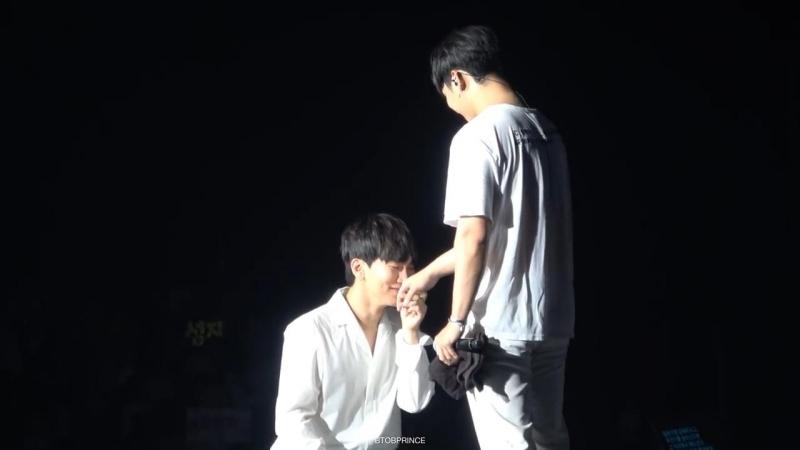 FANCAM 16 07 2018 Ынкван и Хёншик @ Summer Fan Meeting in Japan