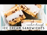 Cookie Dough Ice Cream Sandwiches Collab with Love Me, Feed Me
