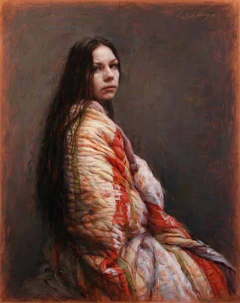 Живопись американского художника Хулио Рейеса (Julio Reyes).