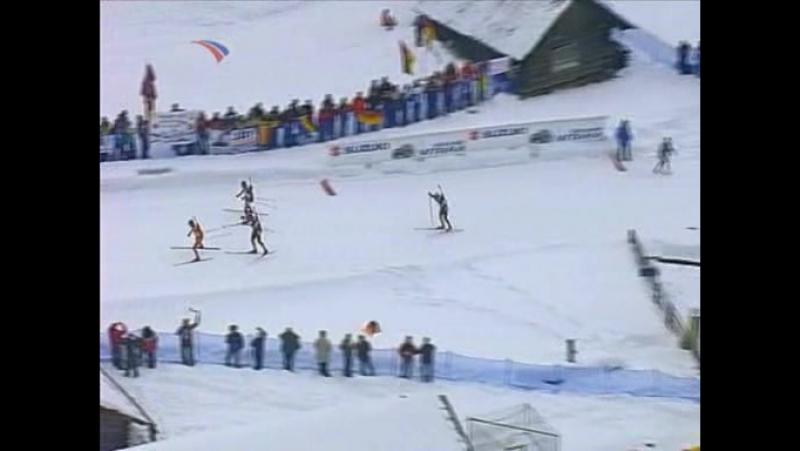 11.02.2007. Биатлон. Чемпионат мира. Масс-старт. Мужчины