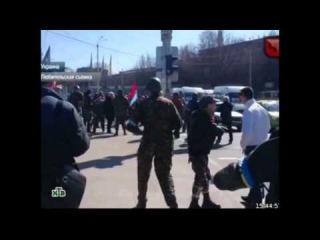 Канал НТВ об инциденте в Запорожье - программа ЧП