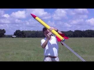 High Power Rocket Onboard Video Sept. 19, 2009- Tripoli Level 1 Cert. Flight