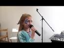 Ученики Славиной Викуша Первые шаги Новосибирск Уроки вокала