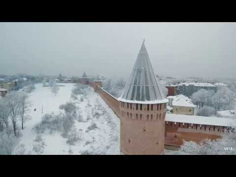 Смоленск зимой 2018 Smolensk in the winter of 2018