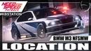 Need for Speed Payback Carro Abandonado BMW M3 NFSMW 2005 Nova Localização